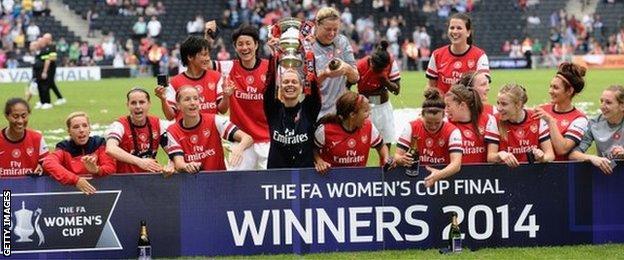 Arsenal FA Women's Cup 2014