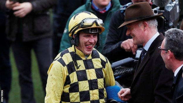 Paul Townend and Willie Mullins