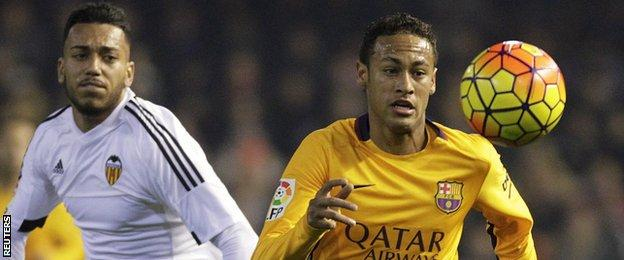 Ruben Vezo and Neymar