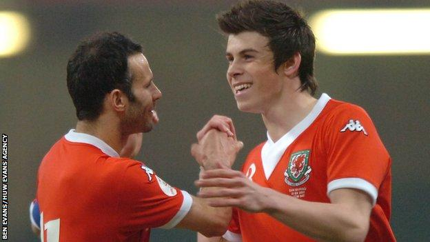 Giggs and Bale