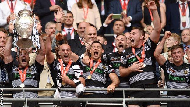 2016 and 2017 Challenge Cup winners Hull FC were knocked out in the quarter-finals this season by St Helens