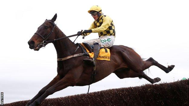 Winning jockey Paul Townend