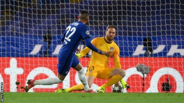 Hakim Ziyech scored
