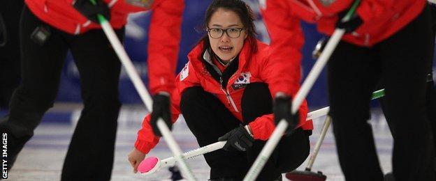 Korea's Eun Jung Kim