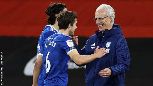 Manager Mick McCarthy has put the smiles back on the faces of Cardiff players and fans alike