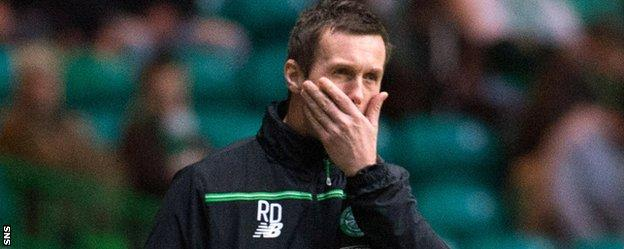 Deila's side slipped to a 2-1 home defeat by Motherwell on Saturday