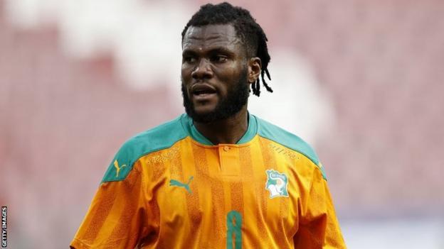 Ivorian midfielder Franck Kessie