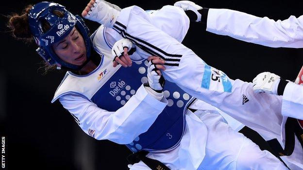 British taekwondo fighter Bianca Walkden