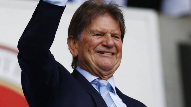 reading  sir john madejski becomes club u0026 39 s vice-chairman