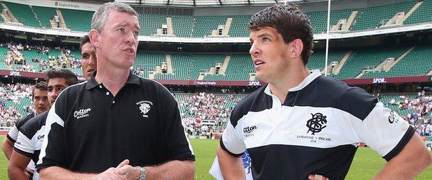 Donncha O'Callaghan first played for Warriors boss Dean Ryan when he was chosen for the Barbarians to play England at Twickenham in 2014