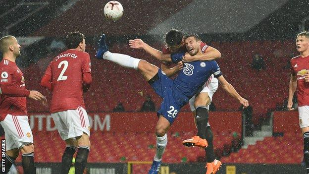 Luke Shaw, Victor Lindelof, Harry Maguire, Cesar Azpilicueta, Scott McTominay, Manchester United, Chelsea