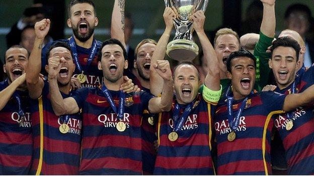 Barcelona v Sevilla