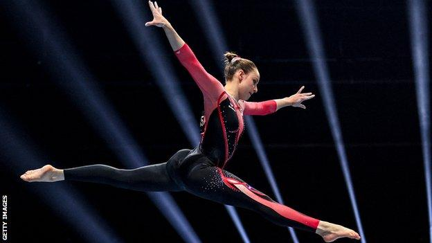 Sarah Voss: German hopes full-body suits make young gymnasts feel safe thumbnail