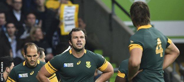 South Africa miss out on Rugby World Cup final