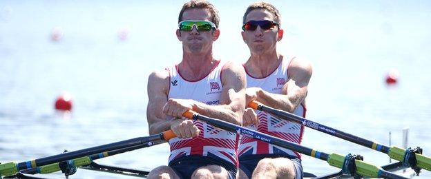 Richard Chambers and Will Fletcher will race in the lightweight men's doubles in Germany