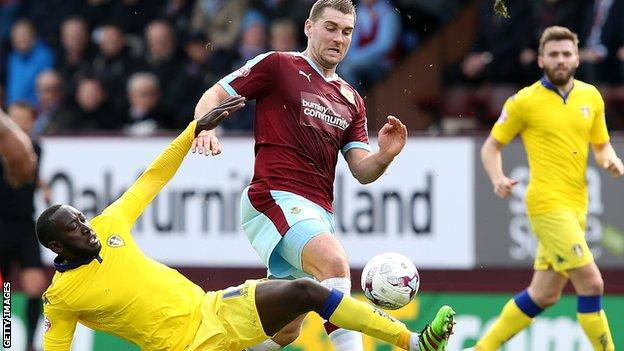 Sam Vokes in action against Leeds