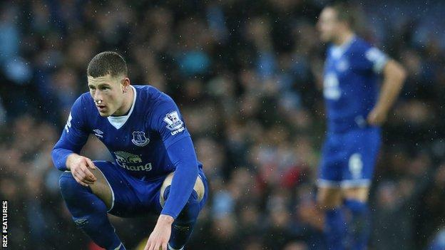 Everton's Ross Barkley