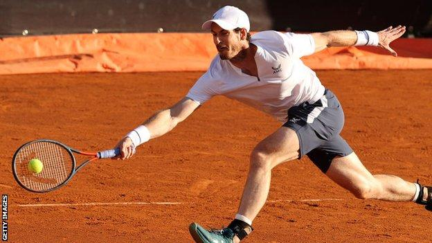 Andy Murray in Italy