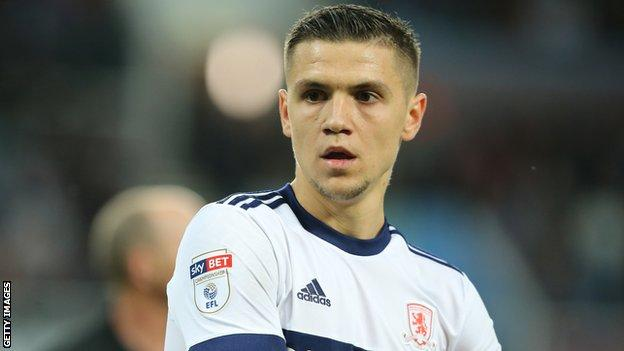 Muhamed Besic's has again been loaned to Middlesbrough by Everton this season