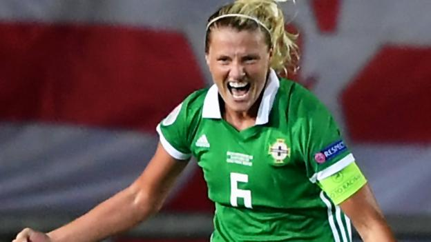 Women's Euro 2021 Qualifiers: Wales 2-2 Northern Ireland - Ashley Hutton rescues point for NI