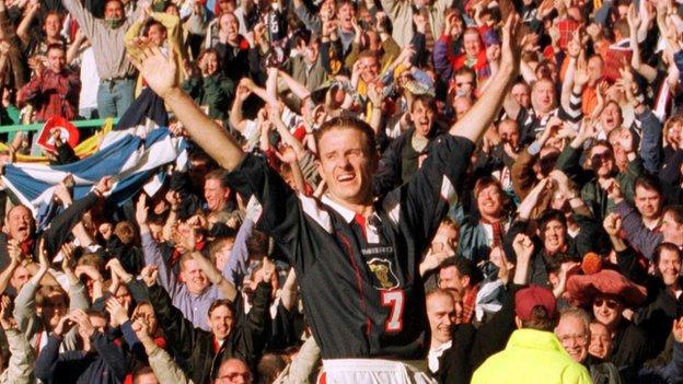 Kevin Gallacher played at three major tournaments with Scotland