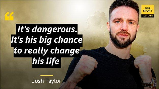 Josh Taylor blows out Apinun Khongsong with first-round knockout
