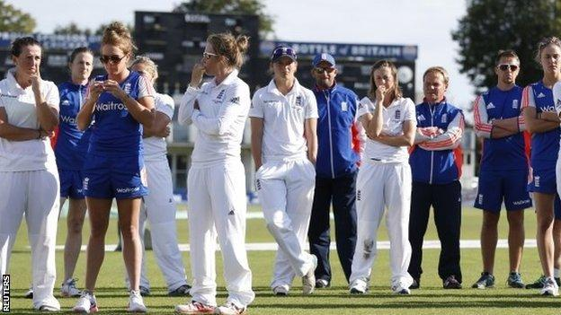 England after their Test defeat by Australia