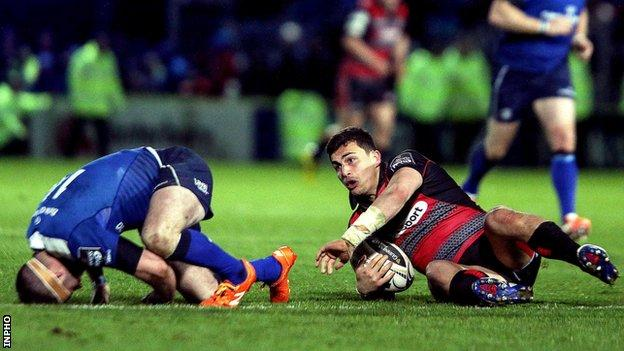 Fergus McFadden's tackle on Damien Hoyland in the closing stages at the RDS