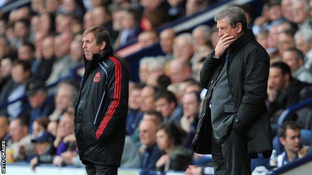 Roy Hodgson (left) and Kenny Dalglish