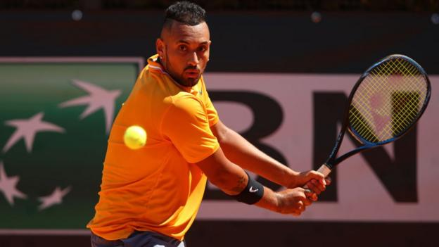 French Open: Nick Kyrgios pulls out of main draw with illness thumbnail