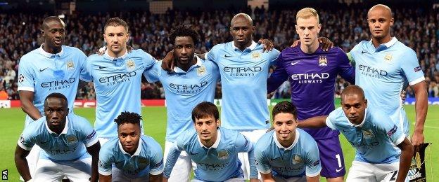 Manchester City are playing in the Champions League for the fifth successive season