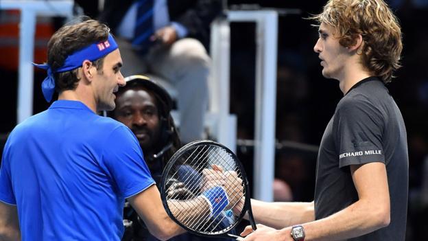 Federer Zverev World Tour Final Highlights