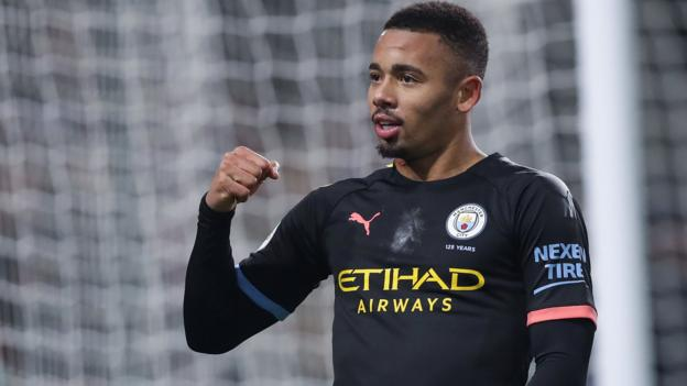 Burnley 1-4 Manchester City: Gabriel Jesus scores twice in comfortable win thumbnail