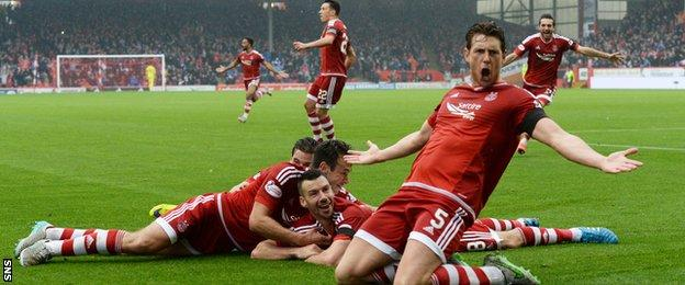 Aberdeen defeated Celtic for the first time since 2014 with a 2-1 win on Saturday