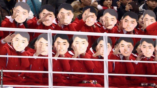 North Korea's supporters
