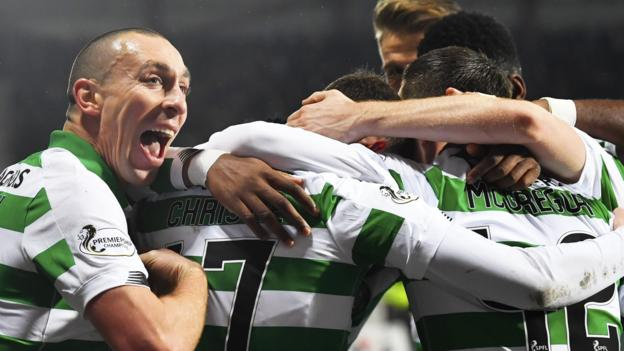 Hearts 0-2 Celtic: Champions move five points clear at top thumbnail