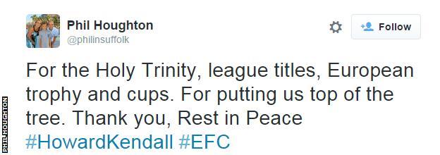 Phil Houghton tweet