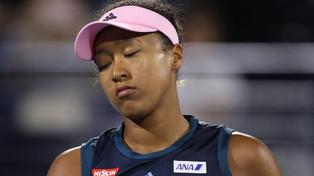Naomi Osaka blames scrutiny over coaching split for Dubai defeat thumbnail