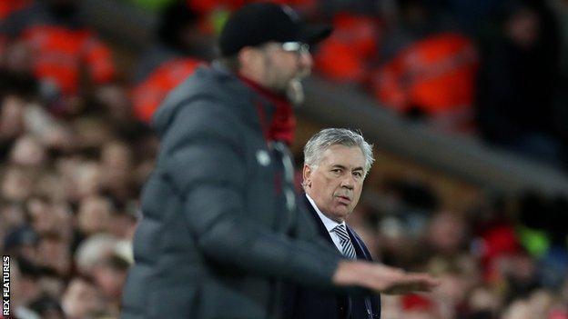 Jurgen Klopp (left) and Carlo Ancelotti