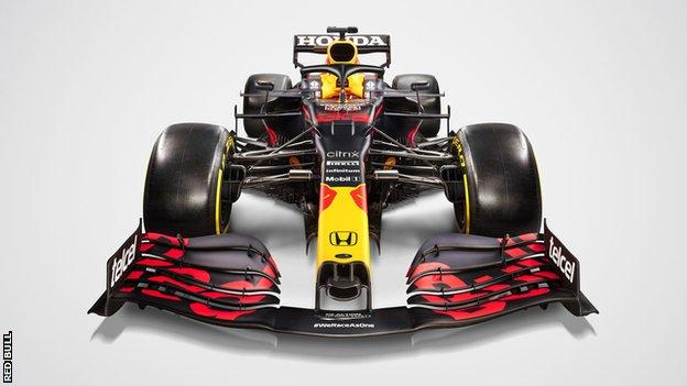 Red Bull reveal their new RB16B car for the 2021 Formula One season (2021)