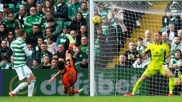 Ian Harkes' terrific diving header hauled United level in the first half