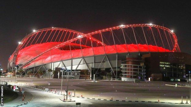 Khalifa Stadium, Qatar