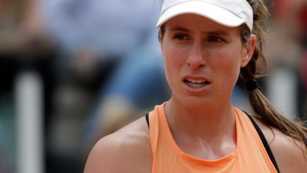 101606464 konta - Italian Delivery: Johanna Konta loses to Jelena Ostapenko in Rome
