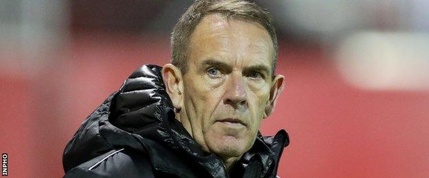 Shiels won the League Cup in his final season at the Brandywell
