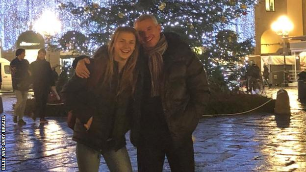 Ellie and Gary in Florence