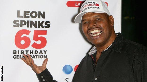 Leon Spinks celebrated his 65th birthday in 2018