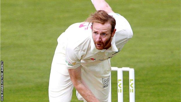 Andy Carter took 12 wickets in three Championship games in his previous spell with Glamorgan
