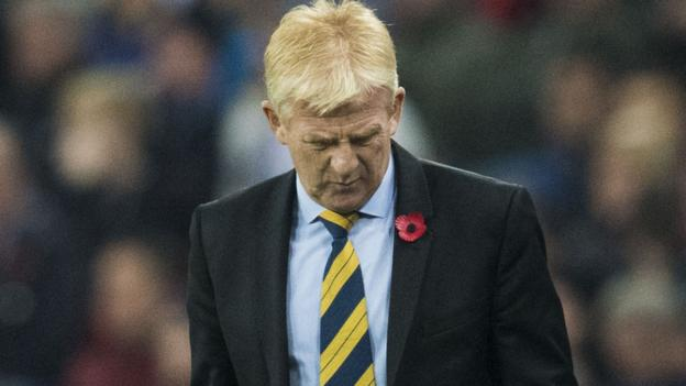 England 3-0 Scotland: Gordon Strachan refuses to be drawn ...