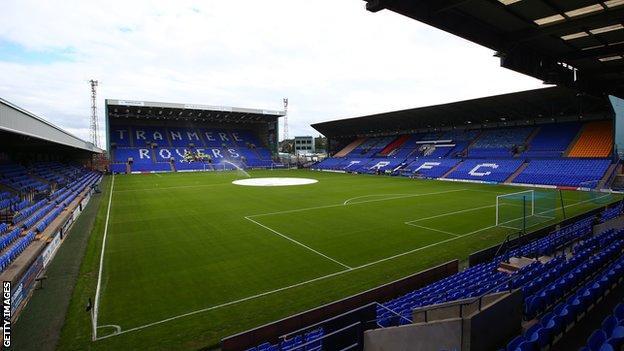Tranmere Rovers' Prenton Park stadium