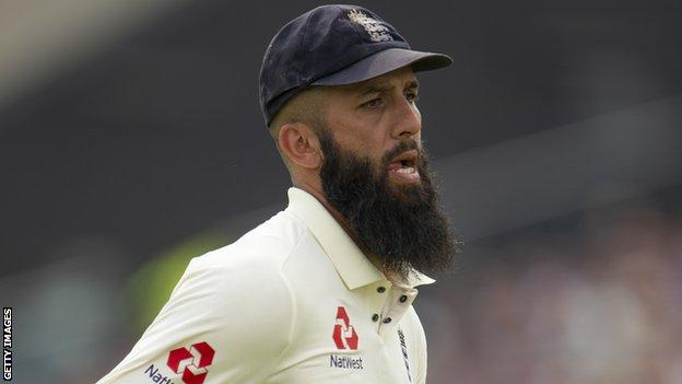 England all-rounder Moeen Ali during the 2019 Ashes against Australia